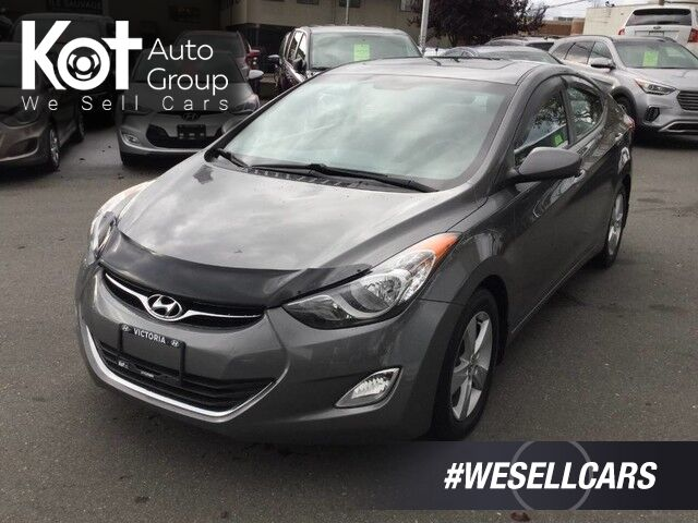 2012 Hyundai Elantra GLS Auto Sunroof, Heated Seats Kelowna BC