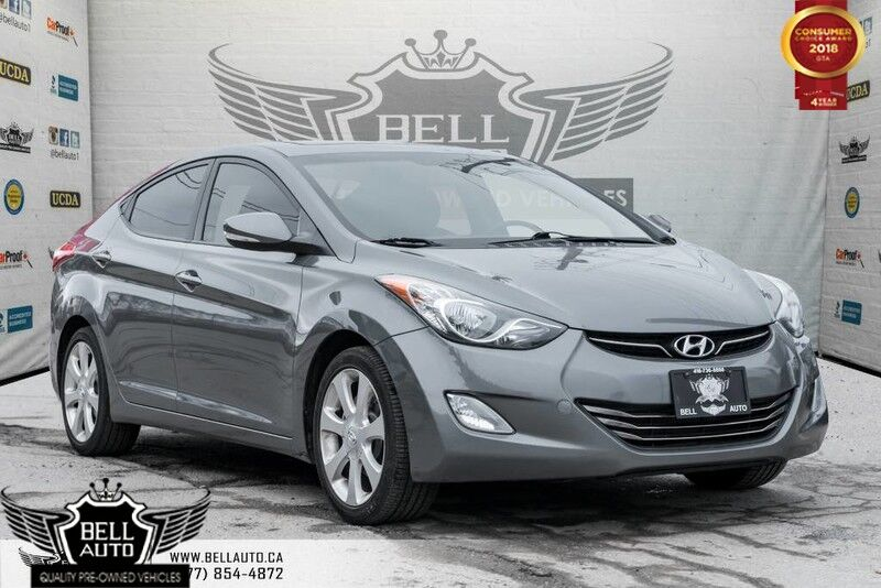 2012 Hyundai Elantra L, LEATHER, HEATED SEATS, ALLOY WHEELS, BLUETOOTH