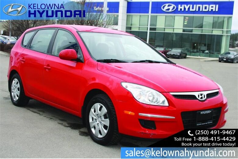 2012 Hyundai Elantra Touring Heated Seats/Bluetooth GL Kelowna BC