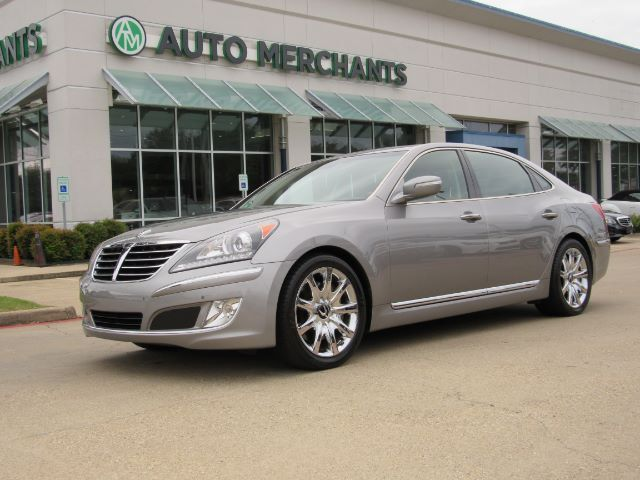 2012 Hyundai Equus Signature, LEATHER, HTD/COOL SEATS, MASSAGE SEAT, AUX/USB/BLUETOOTH, NAV, BACKUP CAM, PWR REAR SEATS Plano TX