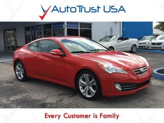 Hyundai Genesis Coupe 3.8 GT 1 OWNER LEATHER SUNROOF NAV BLUETOOTH 2012