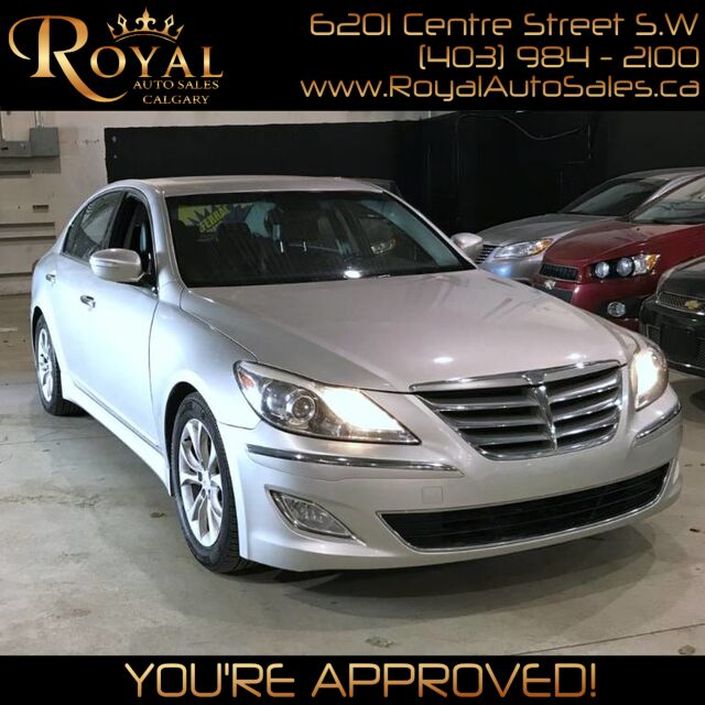 2012_Hyundai_Genesis_w/Premium Pkg LEATHER, BLUETOOTH, SUNROOF_ Calgary AB