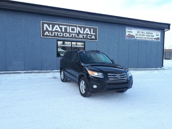 2012 Hyundai Santa Fe G- HATED CLOTH SEATS - SUN ROOF Lethbridge AB