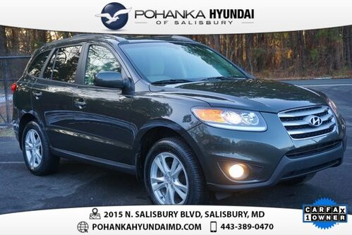 2012_Hyundai_Santa Fe_Limited **CARFAX ONE OWNER VEHICLE**_ Salisbury MD