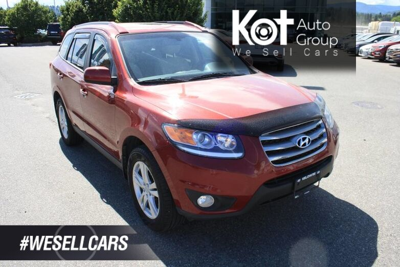2012 Hyundai Santa Fe Limited w/Navi LOW KMS! NO ACCIDENT! FULLY LOADED! Kelowna BC