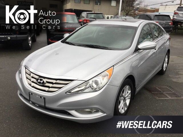 2012 Hyundai Sonata GLS No Accidents! One Owner, Heated Front Seats, Sunroof! Kelowna BC