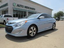 2012_Hyundai_Sonata Hybrid_LEATHER SEATS, BLUETOOTH CONNECTION, NAVIGATION SYSTEM, PANORAMIC ROOF_ Plano TX