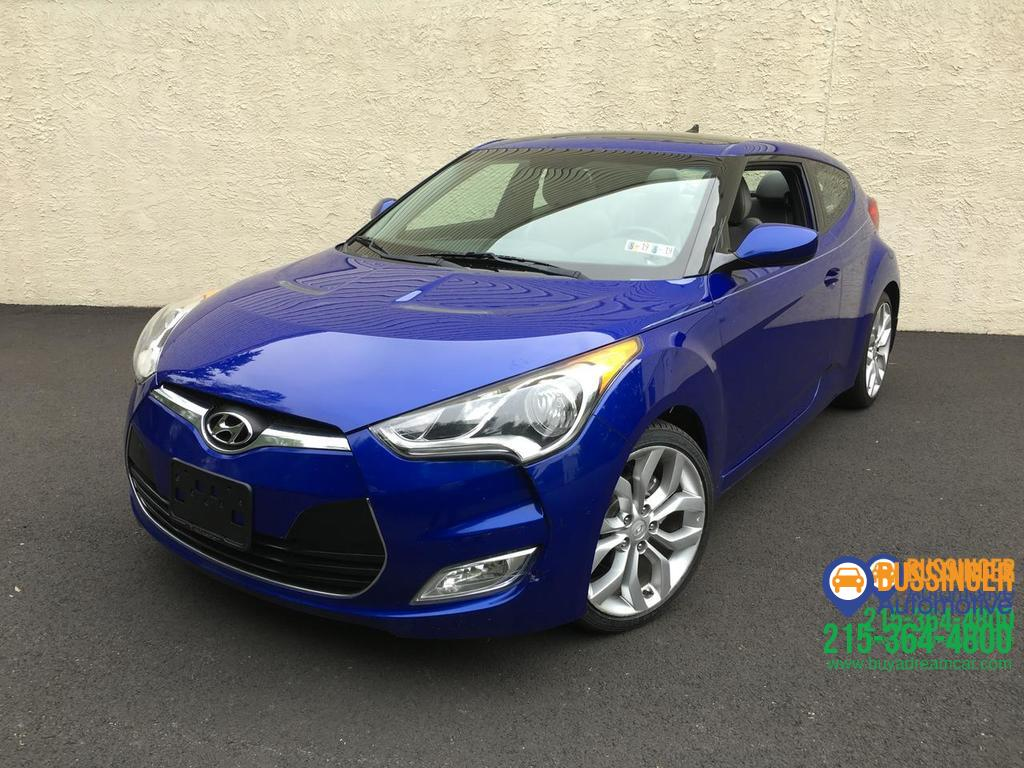 2012 Hyundai Veloster w/Black Int Feasterville PA