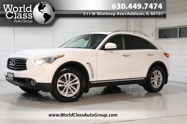 2012 INFINITI FX35 Limited Edition - AWD NAVIGATION 360 PARKING ASSIST BACKUP CAMERA LEATHER INTERIOR HEATED POWER SEATS POWER LIFT GATE SUNROOF PUSH BUTTON START ALLOY WHEELS TINTED WINDOWS Chicago IL