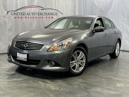 2012_INFINITI_G37 Sedan_X ** Low Miles ** / 3,7L V6 Engine / AWD / Navigation / Sunroof / BOSE Sound System / Parking Sensors with Rear View Camera / Bluetooth_ Addison IL