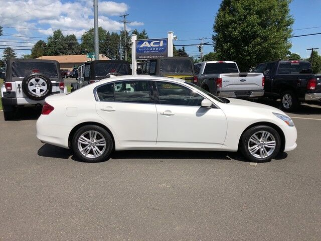 2012 INFINITI G37 Sedan x East Windsor CT
