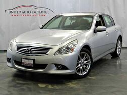 2012_INFINITI_G37x_3.7L V6 Engine / AWD / Sunroof / Navigation / Push Start / Bluetooth / Rear View Camera / Heated Seats / Bose Premium Sound System_ Addison IL