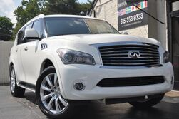 INFINITI QX56 4WD/Intelligent Key w/ Push Button Ignition/Navigation/Around View 360* Monitors/Theater System w/ Dual 7'' Headrest-Mounted Screens/Bose Audio/Heated Semi-Aniline Seating/Heated Steering Wheel/22'' Wheel Package 2012
