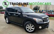 2012 INFINITI QX56 8-passenger PANO SUNROOF, LEATHER, REAR SEAT ENTERTAINMENT, AND MUCH MORE!!!