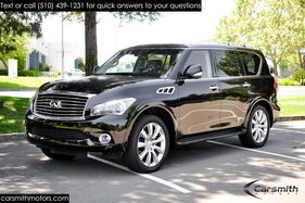 2012_INFINITI_QX56 Loaded and Low Miles Deluxe Touring & Theatre_California Car Loaded with Options and Accident Free_ Fremont CA