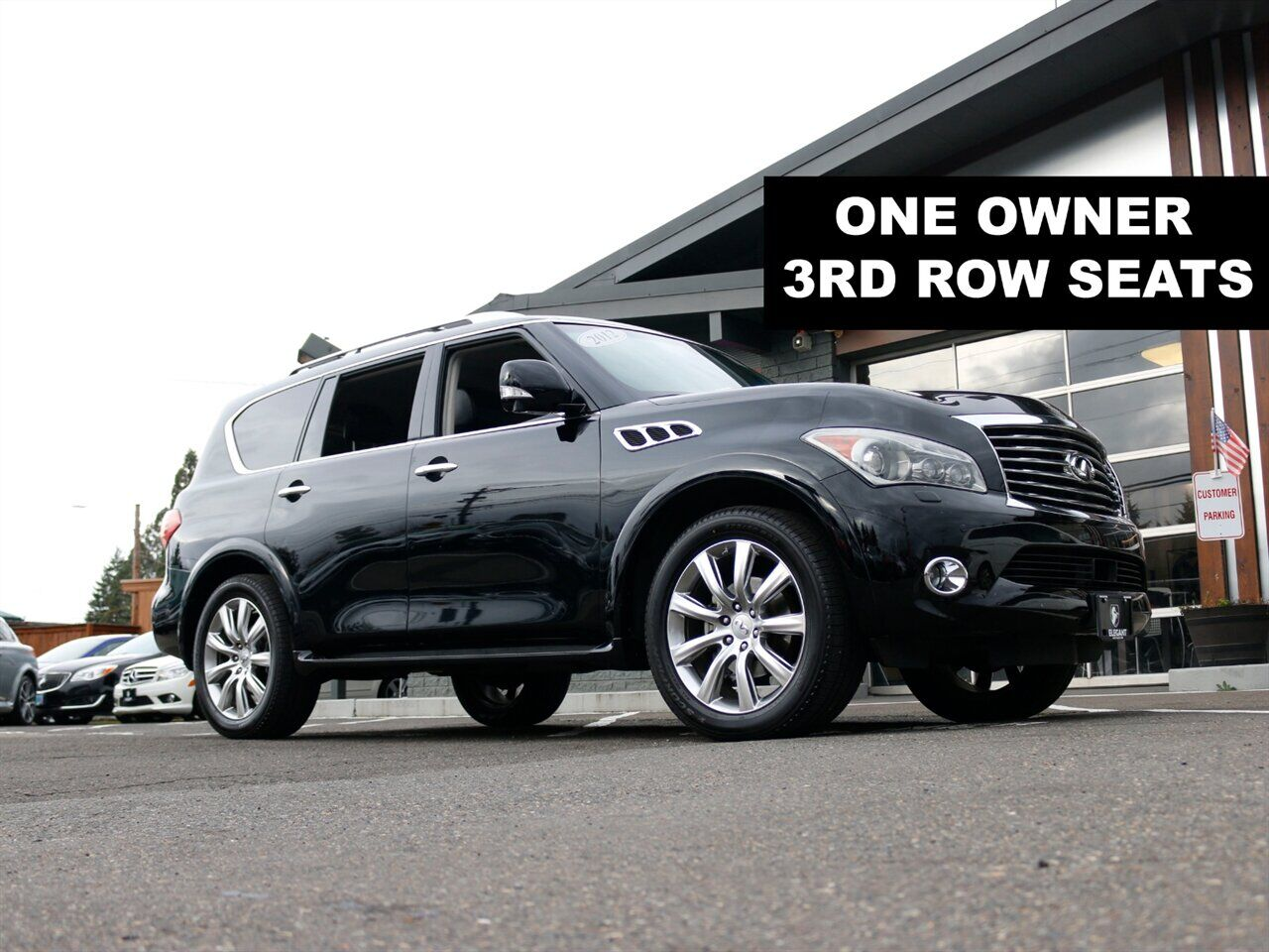 2012 Infiniti QX56 AWD NAVI / HTD SEATS / 3RD ROW / DVD Beaverton OR