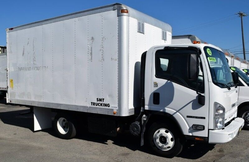 2012 Isuzu NPR 14FT Box Truck