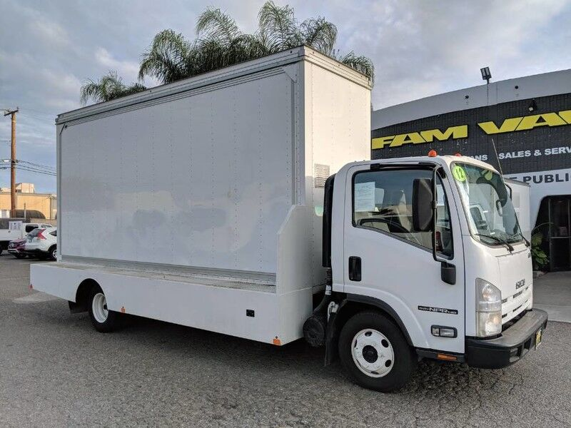 2012 Isuzu NPR HD 18FT DISPLAY BILLBOARD Box Truck