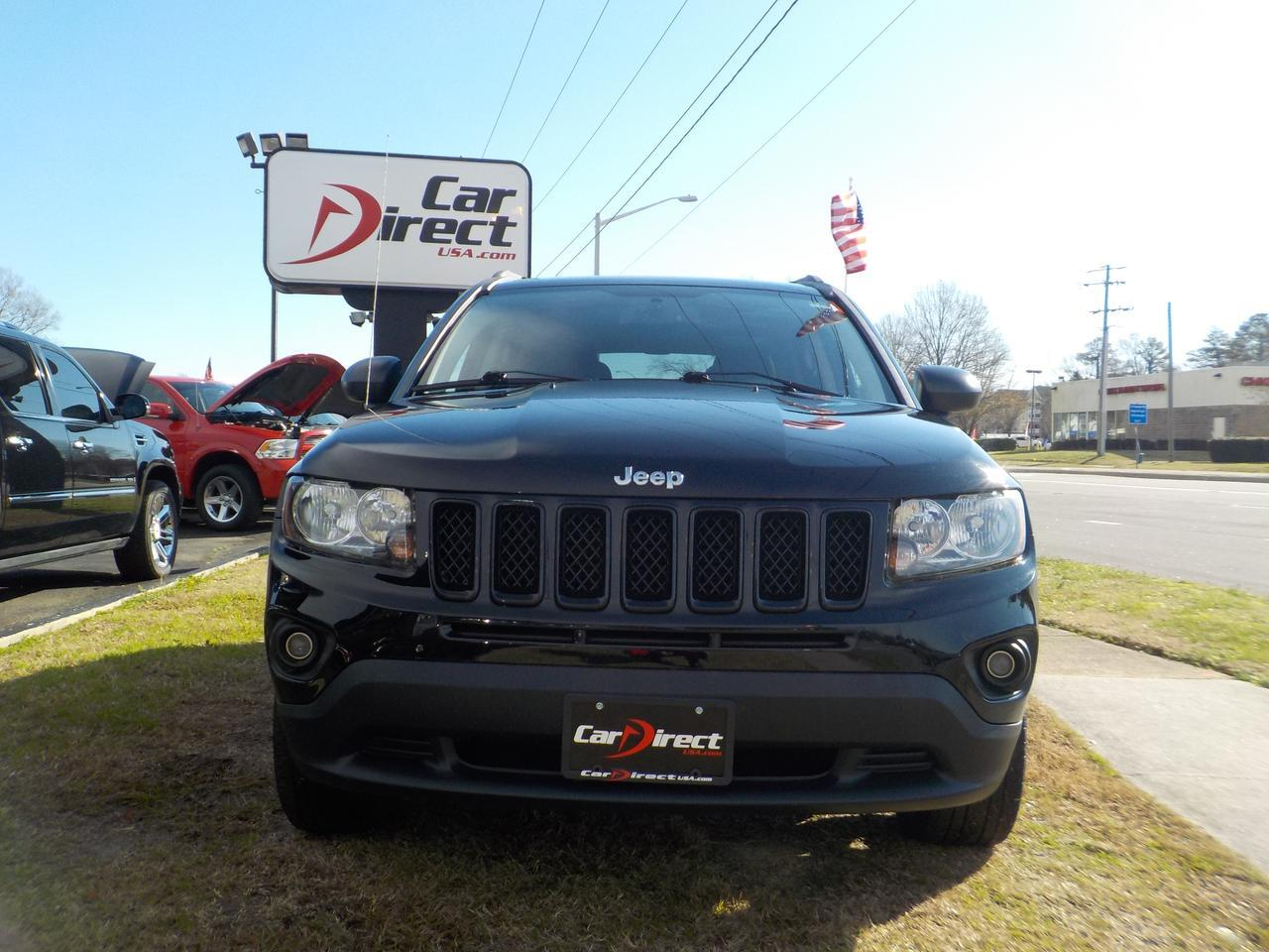 2012 JEEP COMPASS LATITUDE FWD, WARRANTY, REMOTE START, BLUETOOTH WIRELESS, HEATED FRONT SEATS, A/C, KEYLESS ENTRY! Virginia Beach VA