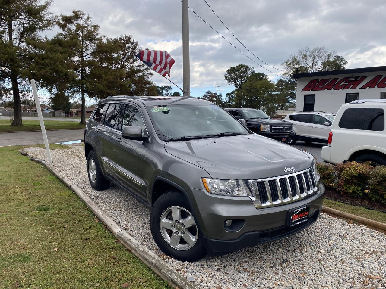 2012 JEEP GRAND CHEROKEE LAREDO 4X4, WARRANTY, AUX/USB PORT, POWER SEATS, CRUISE CONTROL, A/C, 1 OWNER! Norfolk VA