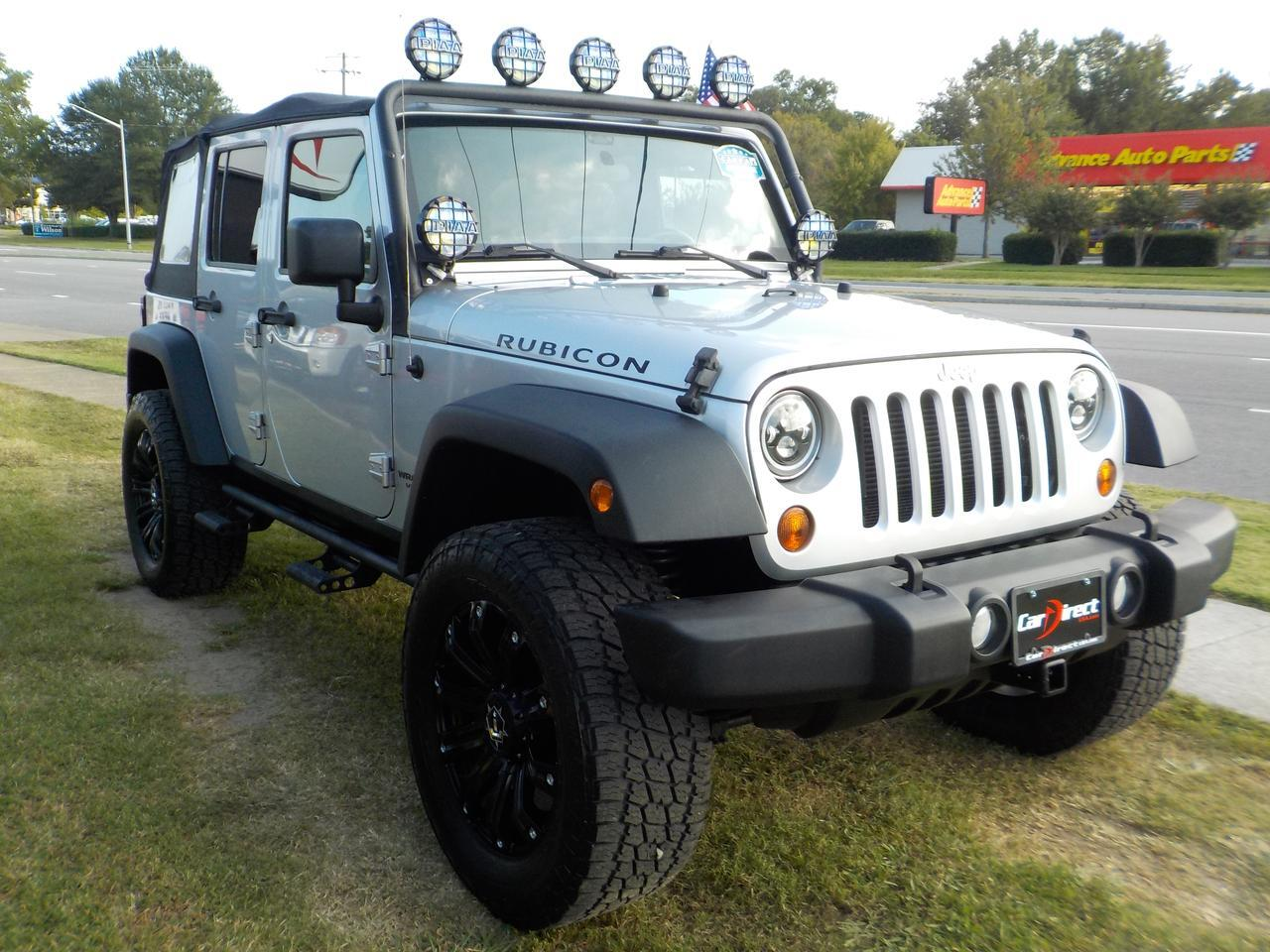 2012 JEEP WRANGLER RUBICON UNLIMITED 4X4, ONE OWNER, NAVIGATION, REMOTE START, TOW! Virginia Beach VA