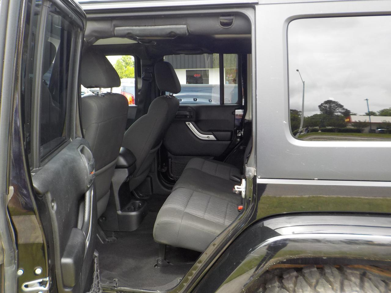 2012 JEEP WRANGLER SAHARA UNLIMITED 6-SPEED MANUAL 4X4, HARD TOP, ROOF RACKS, RUNNING BOARDS, TOW, DVD, NAVIAGTION! Virginia Beach VA
