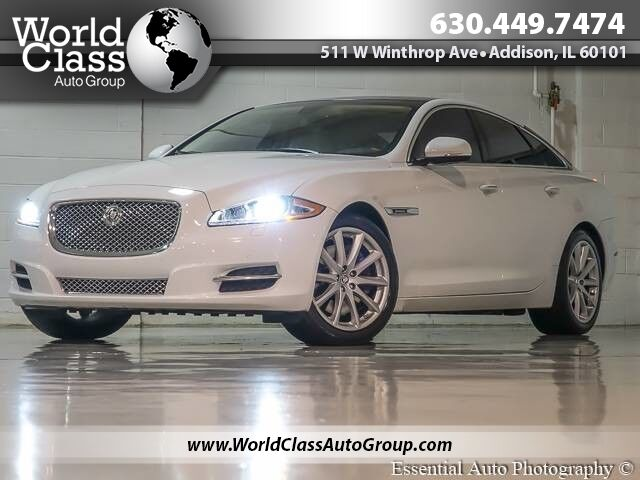 2012 Jaguar XJ NAVI BACKUP CAMERA LEATHER DUAL SUNROOF Chicago IL ...