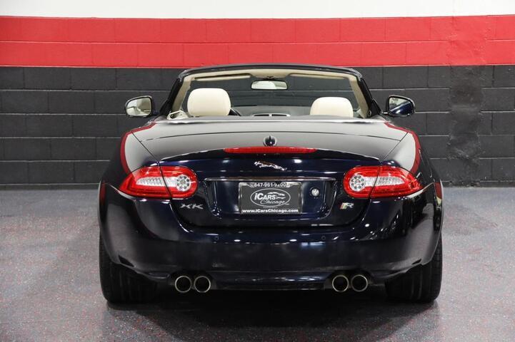 2012 Jaguar XKR 2dr Convertible Chicago IL