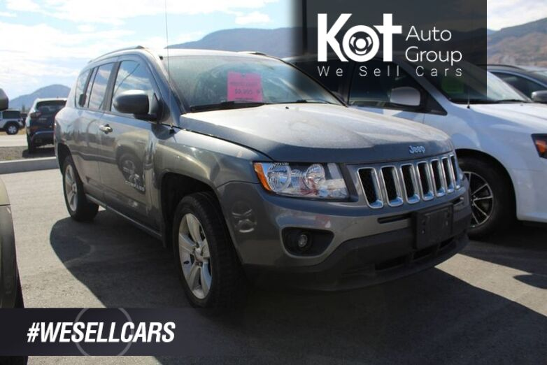 2012 Jeep Compass Sport, 4WD, HEATED FRONT SEATS Penticton BC