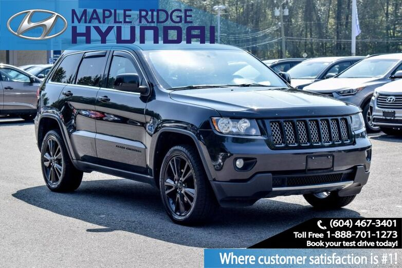 2012 Jeep Grand Cherokee 4WD 4dr Altitude *Ltd Avail* Maple Ridge BC