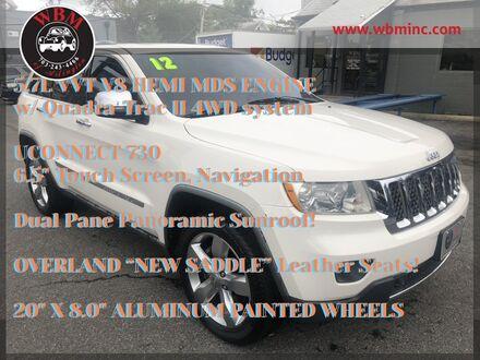 2012_Jeep_Grand Cherokee_4WD Overland_ Arlington VA