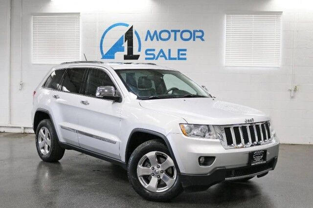 2012 Jeep Grand Cherokee Limited 4WD 1 Owner Schaumburg IL