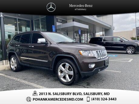 2012_Jeep_Grand Cherokee_Overland ** Pohanka 6 Month / 6,000 warranty **_ Salisbury MD
