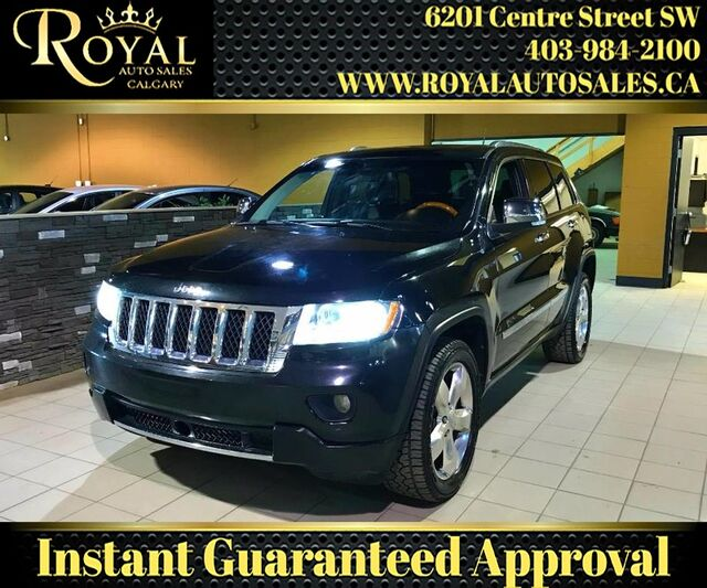 2012_Jeep_Grand Cherokee_Overland 4WD FULLY LOADED, NAV, BLUETOOTH_ Calgary AB
