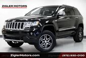 2012 Jeep Grand Cherokee Overland 4x4 Lifted, Large Tires, HEMI, Clean Carfax