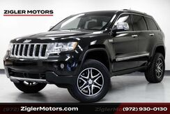 2012_Jeep_Grand Cherokee_Overland 4x4 Lifted, Large Tires, HEMI, Clean Carfax_ Addison TX