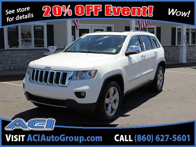 2012 Jeep Grand Cherokee Overland East Windsor CT