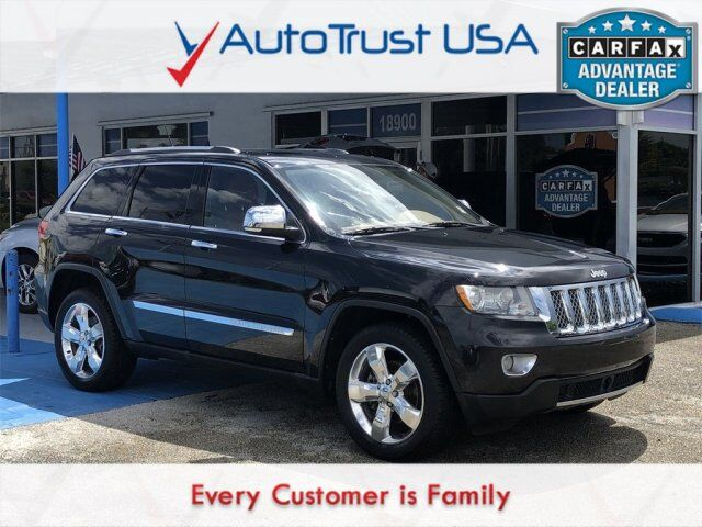 2012 Jeep Grand Cherokee Overland Miami FL