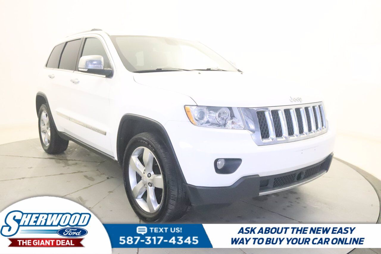 2012 Jeep Grand Cherokee Overland Sherwood Park AB