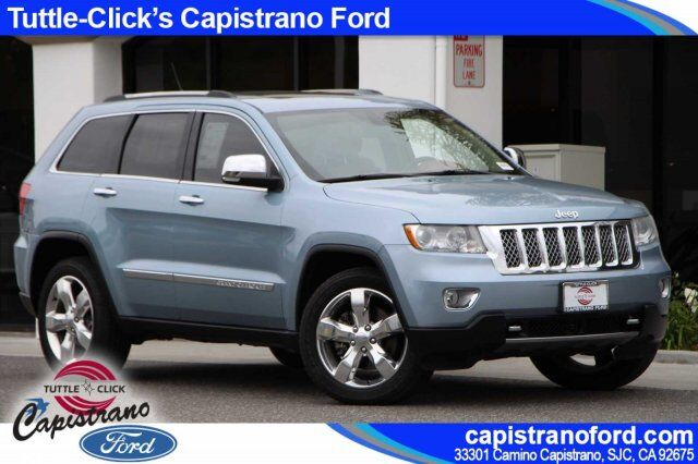 2012 Jeep Grand Cherokee Overland Summit Irvine CA