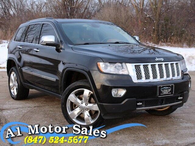 2012 Jeep Grand Cherokee Overland Summit Schaumburg IL