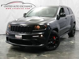 2012_Jeep_Grand Cherokee_SRT8 / 6.4L V8 SRT Engine / 4WD / Sunroof / Navigation / Parking Aid / Bluetooth_ Addison IL