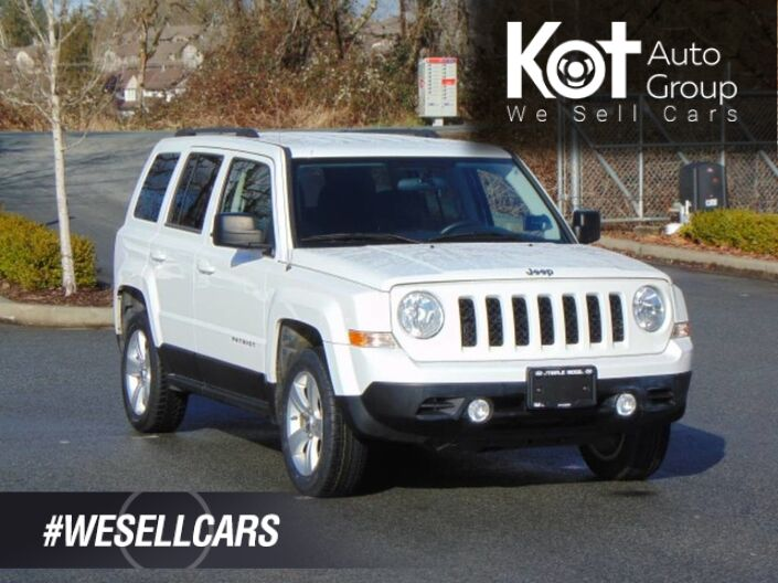 2012 Jeep Patriot 4WD 4dr North Kelowna BC