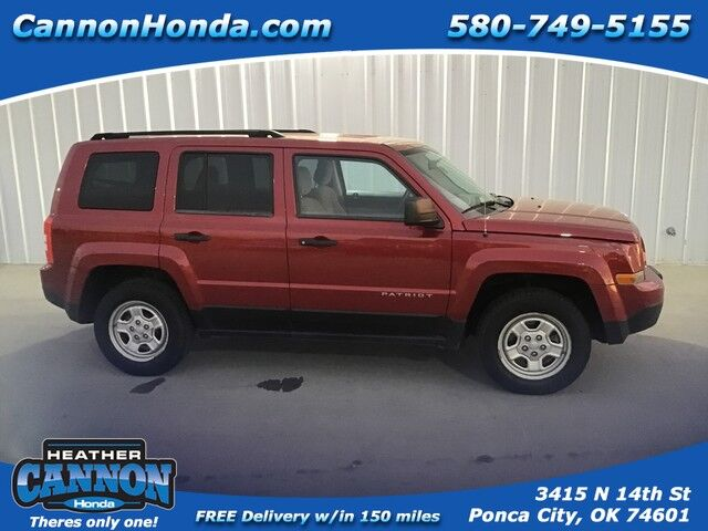 2012 Jeep Patriot Sport Ponca City OK