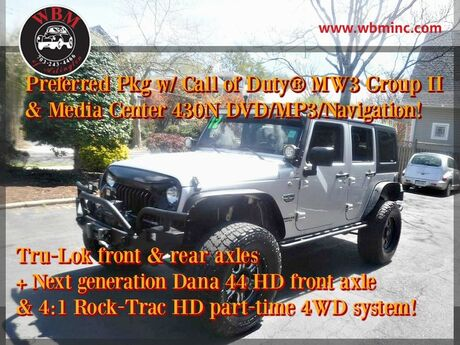 2012 Jeep Wrangler 4WD Unlimited Call of Duty Arlington VA