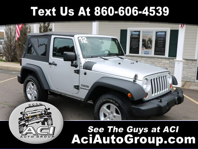 2012 Jeep Wrangler Freedom Edition East Windsor CT
