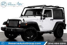 2012 Jeep Wrangler Freedom Edition Pwr Convenience Group Hardtop Roofrack