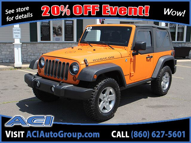 2012 Jeep Wrangler Rubicon East Windsor CT