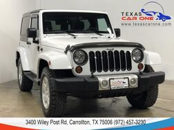 2012_Jeep_Wrangler_SAHARA 4WD HARD TOP CONVERTIBLE ALLOY WHEELS CRUISE CONTROL_ Carrollton TX