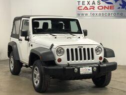 2012_Jeep_Wrangler_SPORT 4WD SOFT TOP CONVERTIBLE CRUISE CONTROL STEERING WHEEL CON_ Carrollton TX